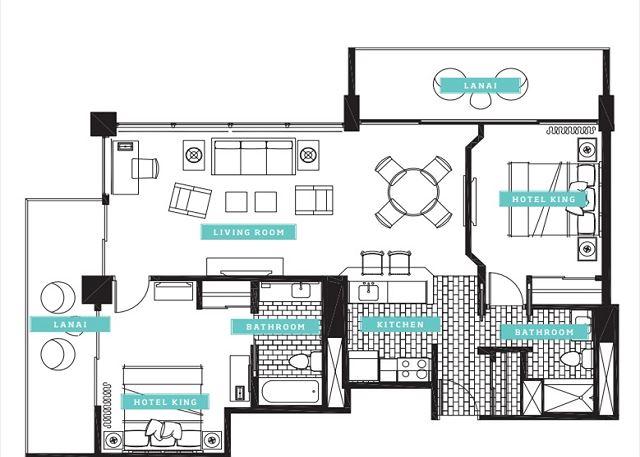 Ilikai Apartment Building #2326 | イリカイ・アパートメント・ビルディング #2326